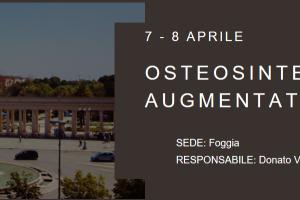 07-08 APR 2017 | Corso Itinerante di Istruzione - Osteosintesi Augmentation