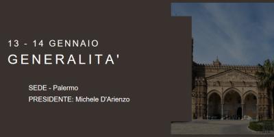 Corso Itinerante di Istruzione 2017 – Palermo