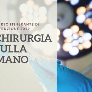 21-22 GIU 2019 | Corso Itinerante di Istruzione - Chirurgia sulla mano - Morbo di Kienboeck